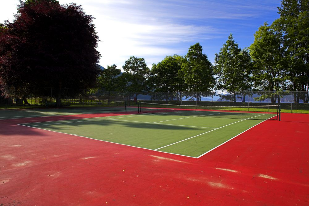 Una pista de tenis para mi camping