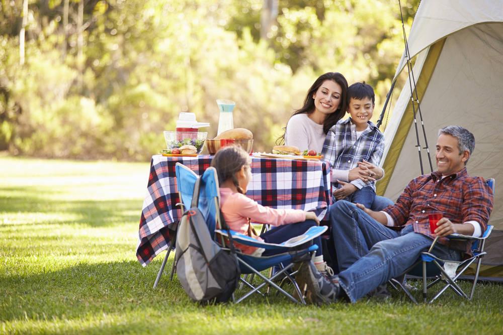 Una acampada segura