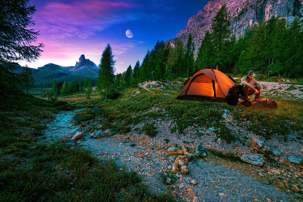 Descubre la experiencia de la acampada libre
