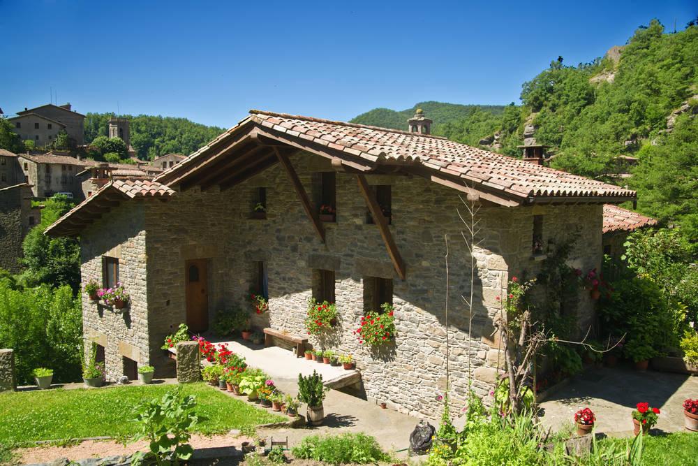 La aventura de decorar una casa rural