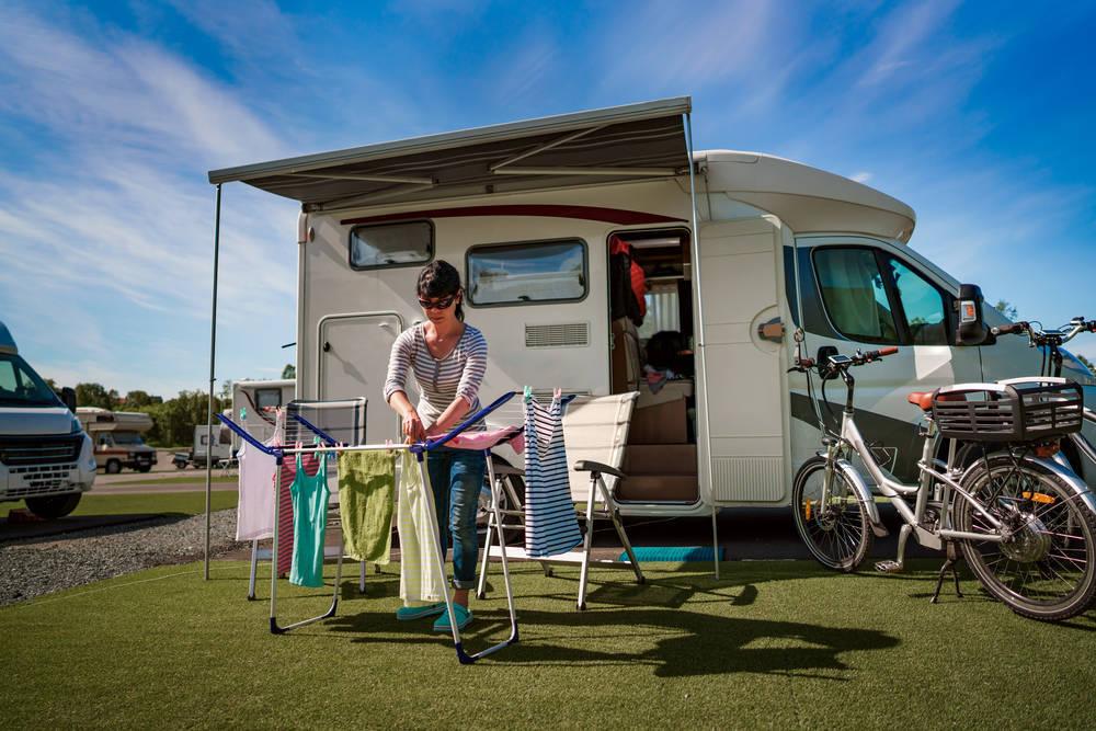 Cómo lavar ropa en un albergue o campings