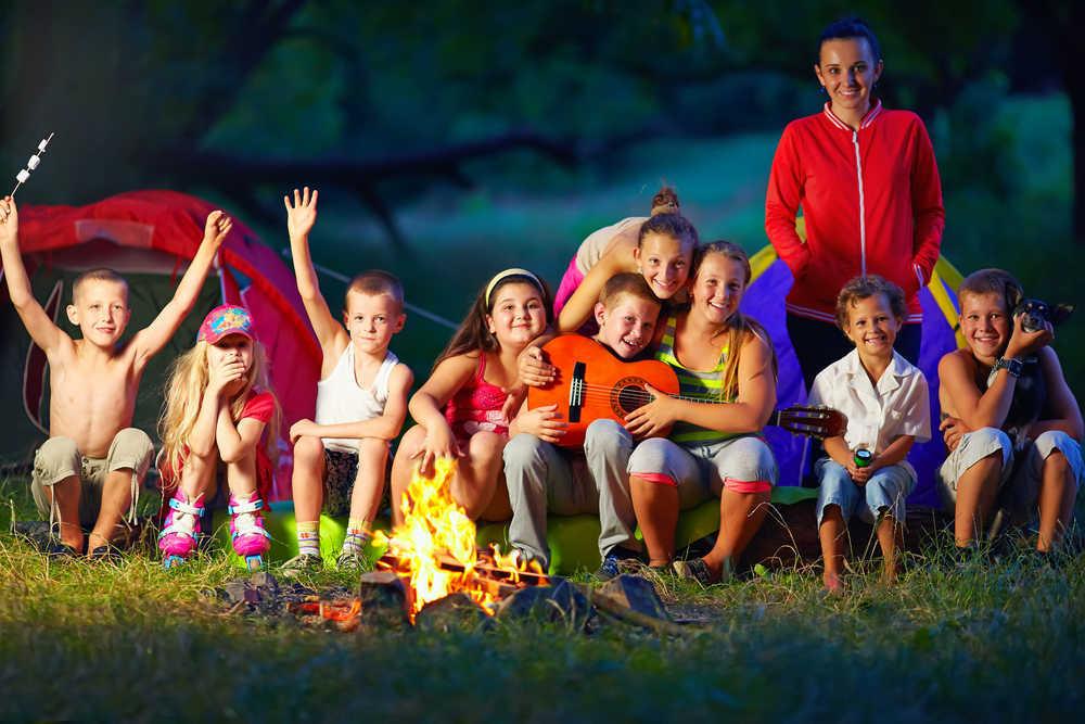 Acampadas juveniles e infantiles
